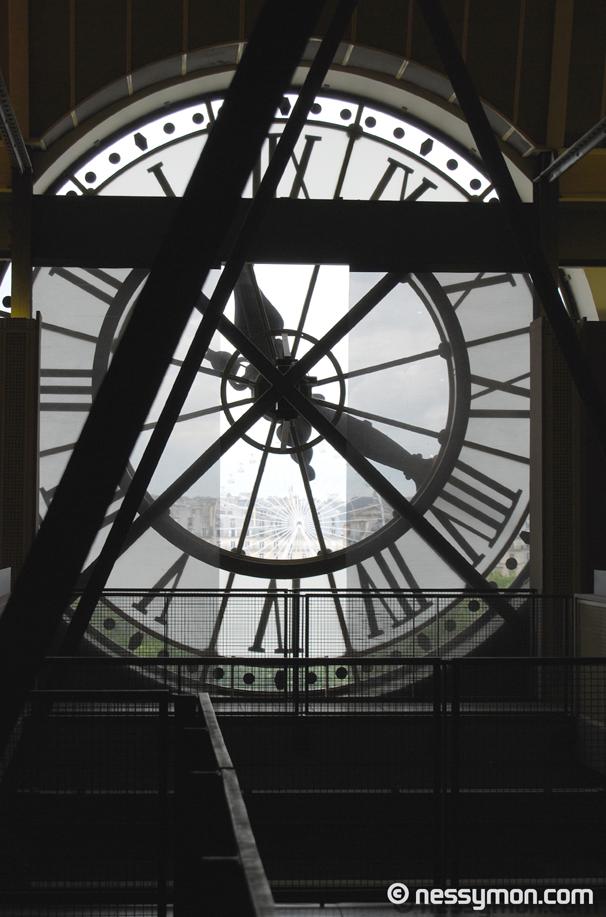 Clock at Museé D\'Orsay