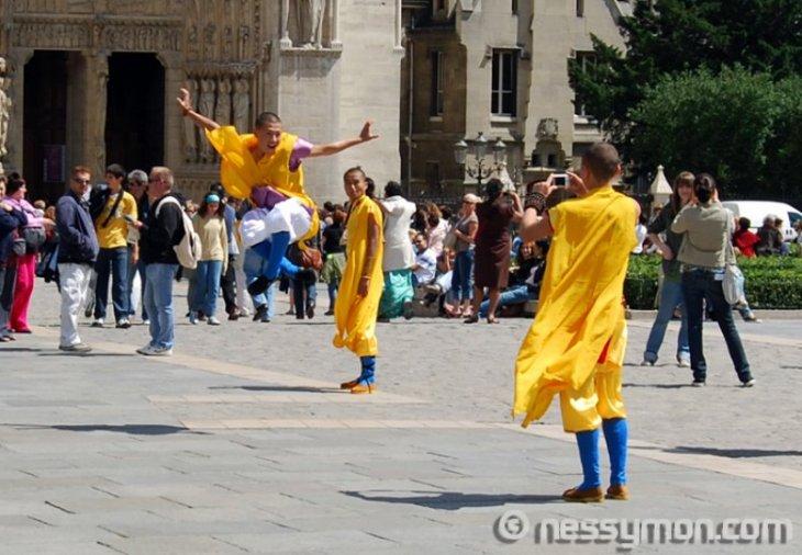 Monks at Notre Dame